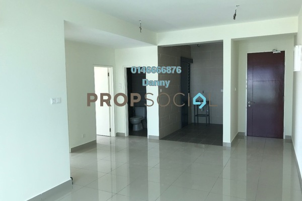 For Rent Condominium at Ascenda Residence @ SkyArena, Setapak Freehold Unfurnished 3R/2B 1.4k