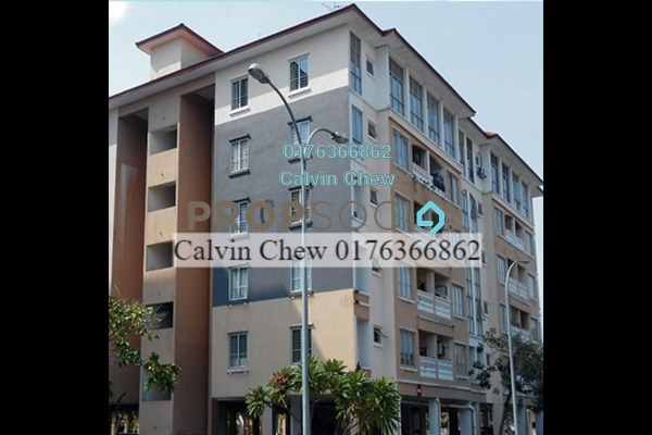 For Sale Condominium at Nilam Puri, Bandar Bukit Puchong Freehold Unfurnished 3R/2B 335k