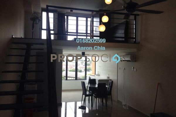 For Rent Serviced Residence at Subang SoHo, Subang Jaya Freehold Semi Furnished 1R/1B 1.4k
