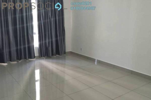 For Rent Condominium at Villa Crystal, Segambut Freehold Semi Furnished 3R/2B 1.8k