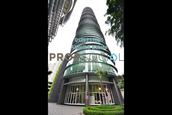 For Sale Condominium at Vortex Suites & Residences, KLCC Freehold Semi Furnished 2R/2B 950k