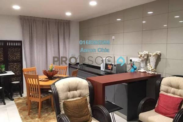 For Rent Serviced Residence at Uptown Residences, Damansara Utama Freehold Fully Furnished 3R/4B 4.5k