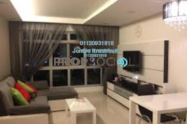 For Sale Condominium at Empire Subang, Subang Jaya Freehold Semi Furnished 1R/1B 376k