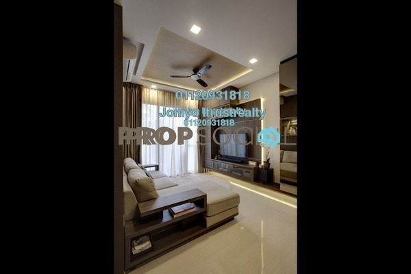 For Sale Condominium at Tropicana Gardens, Kota Damansara Freehold Semi Furnished 1R/1B 370k