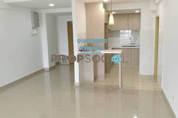 For Rent Serviced Residence at Mas Kiara Residences, TTDI Freehold Semi Furnished 3R/2B 2.8k