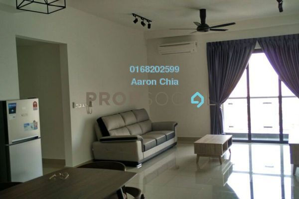 For Rent Serviced Residence at Glomac Centro, Bandar Utama Freehold Fully Furnished 3R/2B 2.55k