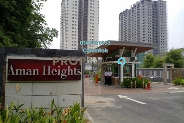 For Rent Condominium at Aman Heights, Seri Kembangan Freehold Unfurnished 3R/2B 1k