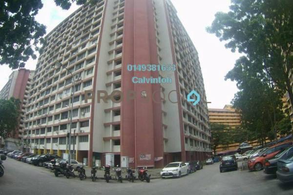 For Rent Apartment at Sri Tioman II, Setapak Freehold Semi Furnished 2R/2B 1.1k