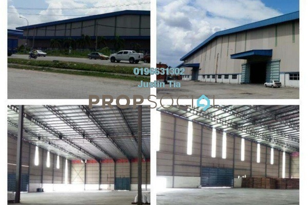 For Rent Factory at Pandamaran Industrial Estate, Port Klang Freehold Semi Furnished 0R/0B 158k