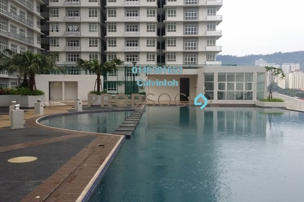 For Rent Condominium at M3 Residency, Gombak Freehold Semi Furnished 3R/2B 1.25k