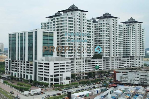 For Rent Condominium at The Heritage, Seri Kembangan Freehold Fully Furnished 2R/2B 2k