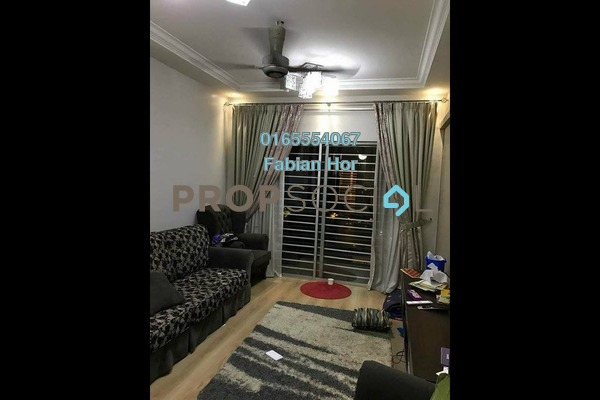 For Sale Condominium at Casa Idaman, Jalan Ipoh Freehold Fully Furnished 4R/2B 450k