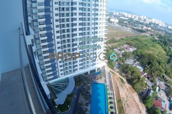 For Rent Apartment at Desa Green Serviced Apartment, Taman Desa Freehold Semi Furnished 2R/1B 1.4k