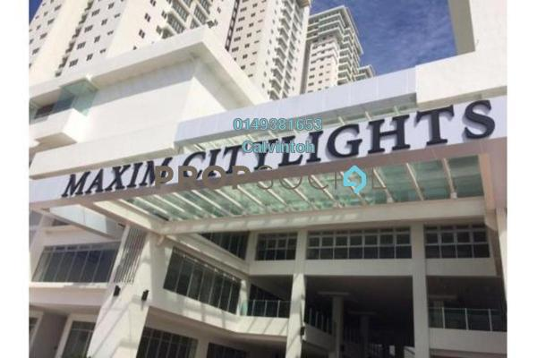 For Rent Condominium at Maxim Citilights, Sentul Freehold Semi Furnished 3R/2B 1.1k