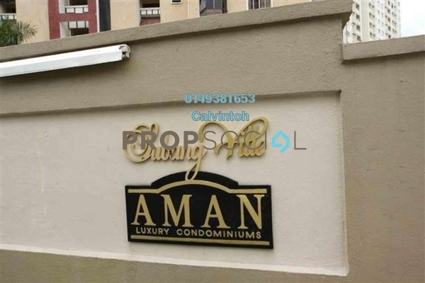 For Rent Apartment at Aman Apartment, Bandar Sunway Freehold Fully Furnished 3R/2B 1.3k