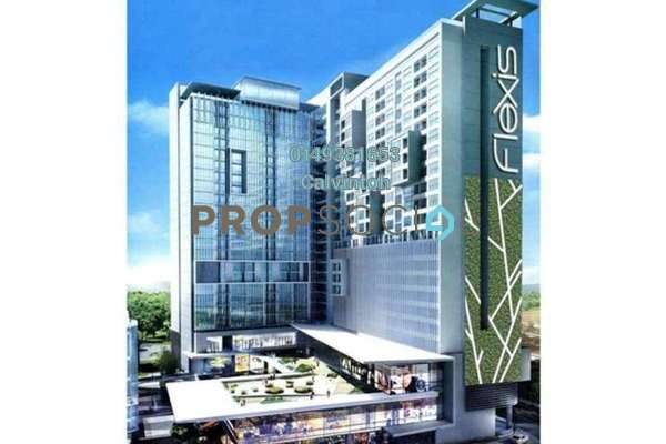 For Rent Apartment at Flexis @ One South, Seri Kembangan Freehold Fully Furnished 0R/1B 1.3k