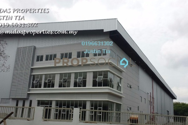 For Rent Factory at Pulau Indah Industrial Park, Port Klang Freehold Semi Furnished 0R/0B 119k