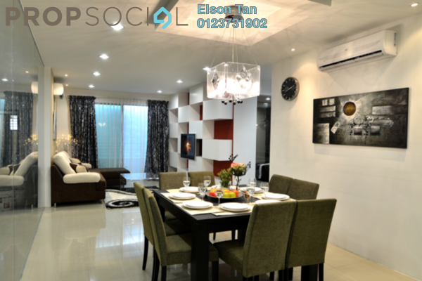 For Sale Condominium at D'Aman Residences, Puchong Freehold Semi Furnished 3R/2B 440k
