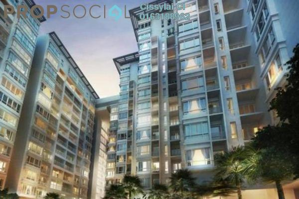 For Sale Condominium at V Residence @ Sunway Velocity, Cheras Freehold Semi Furnished 3R/3B 1.29m
