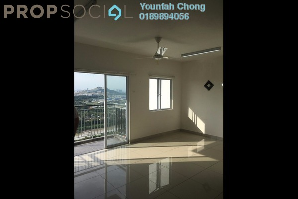 For Rent Condominium at Koi Prima, Puchong Freehold Semi Furnished 3R/2B 1.2k