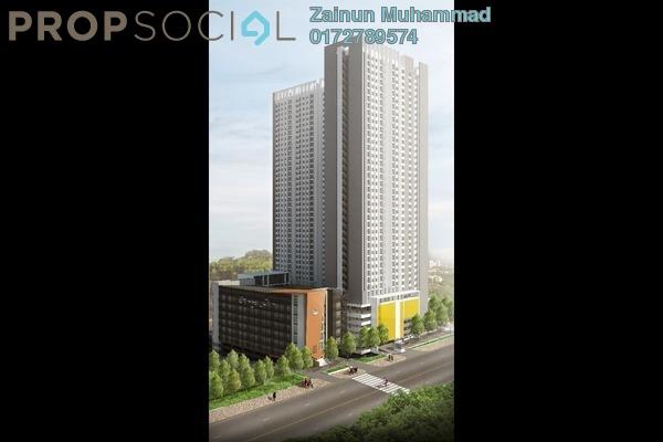 For Sale Apartment at Residensi Inspiria, Setapak Leasehold Unfurnished 3R/2B 300k