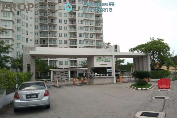 For Sale Condominium at The Spring, Jelutong Freehold Semi Furnished 3R/2B 578k