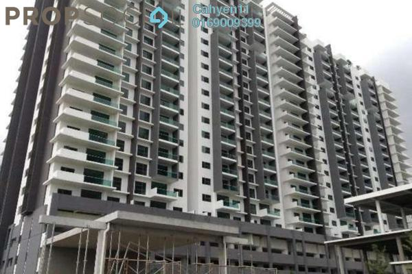 For Rent Condominium at Silk Residence, Bandar Tun Hussein Onn Freehold Semi Furnished 3R/2B 1.1k
