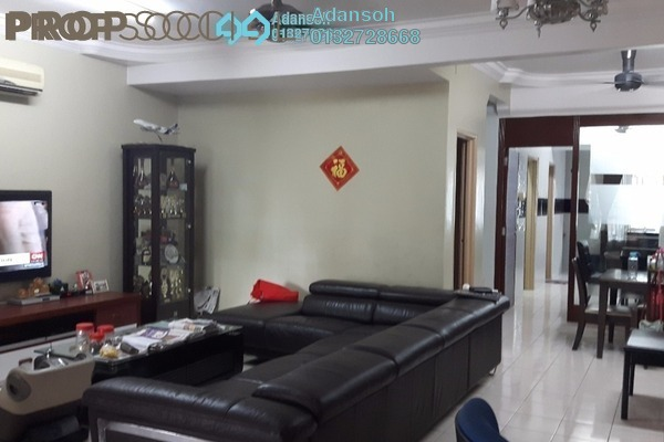 For Sale Terrace at Taman Megah, Kepong Freehold Semi Furnished 4R/3B 960k