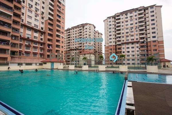 For Sale Condominium at Idaman Sutera, Setapak Freehold Semi Furnished 3R/2B 290k