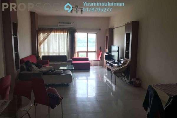 For Rent Condominium at East Lake Residence, Seri Kembangan Freehold Fully Furnished 3R/2B 2.1k