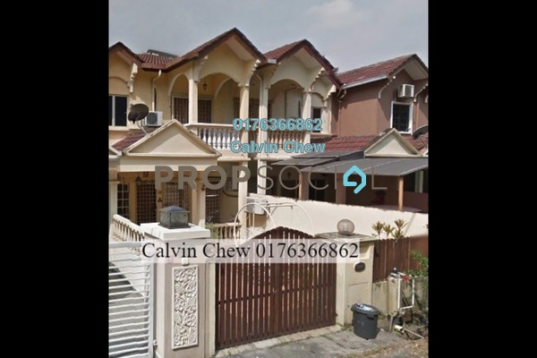 For Sale Terrace at Taman Wangsa Permai, Kepong Freehold Unfurnished 0R/0B 684k