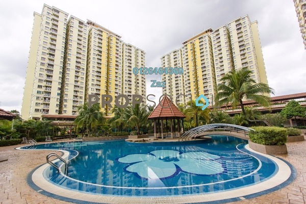 For Sale Condominium at Platinum Lake PV10, Setapak Freehold Semi Furnished 4R/2B 469k