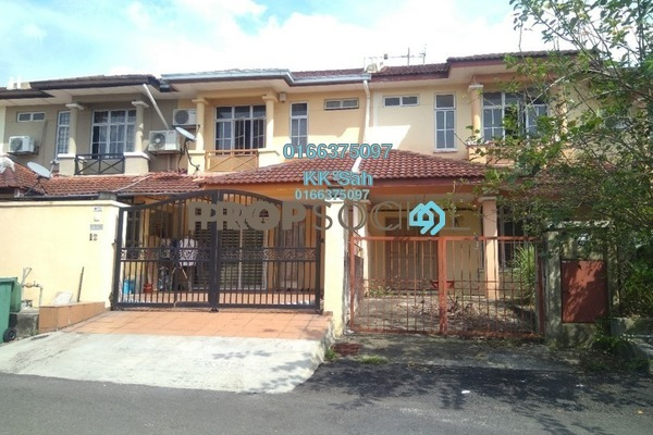 For Sale Terrace at Taman Sri Bahagia, Cheras South Freehold Semi Furnished 4R/3B 455k