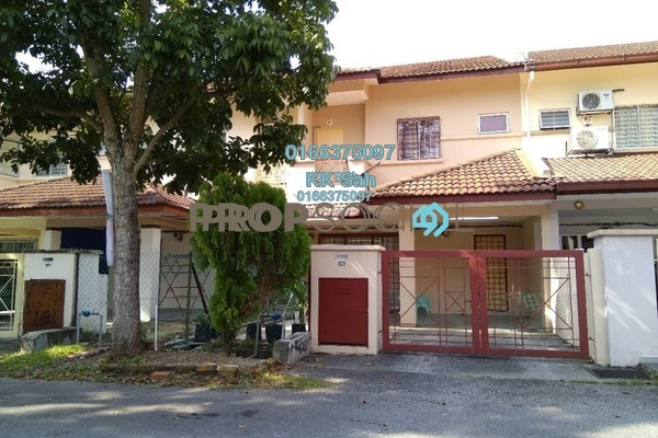 For Sale Link at Section 1, Bandar Mahkota Cheras Freehold Semi Furnished 4R/3B 538k