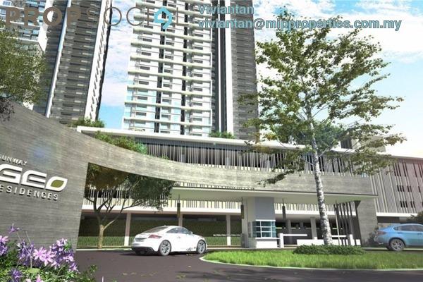 For Rent Condominium at Sunway GEO Residences, Bandar Sunway Freehold Fully Furnished 2R/2B 3.2k