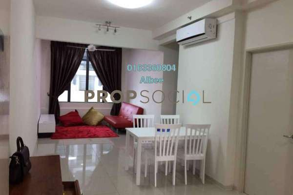 For Rent Condominium at Centrestage, Petaling Jaya Freehold Fully Furnished 3R/2B 2.35k