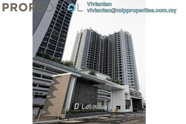 For Rent Condominium at D'Latour, Bandar Sunway Freehold Fully Furnished 2R/2B 2.85k