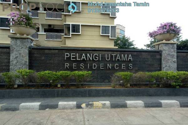 For Sale Condominium at Pelangi Utama, Bandar Utama Freehold Semi Furnished 3R/2B 680k