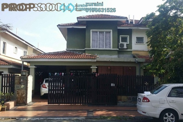 For Sale Terrace at Bandar Tasik Puteri, Rawang Freehold Semi Furnished 4R/3B 350k