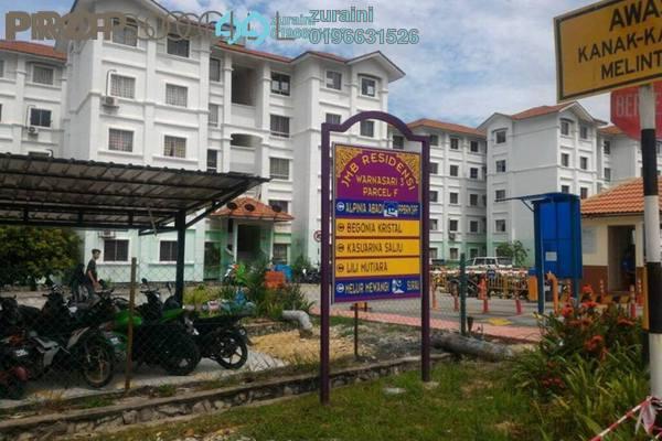 For Sale Apartment at Residensi Warnasari, Kuala Selangor Freehold Unfurnished 3R/2B 138k