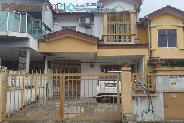 For Sale Terrace at Taman Universiti, Bangi Freehold Semi Furnished 4R/3B 51k