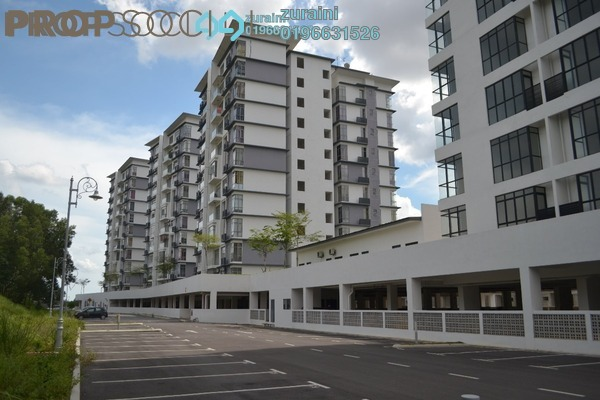 For Sale Condominium at Lakeview Residency, Cyberjaya Freehold Unfurnished 3R/2B 500k