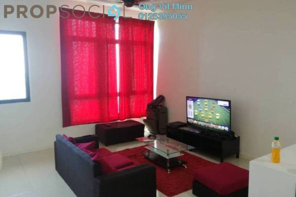 For Rent Serviced Residence at Tropicana Avenue, Tropicana Freehold Semi Furnished 1R/1B 2k