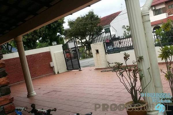 For Sale Semi-Detached at Zaaba, TTDI Freehold Semi Furnished 4R/3B 2.55m