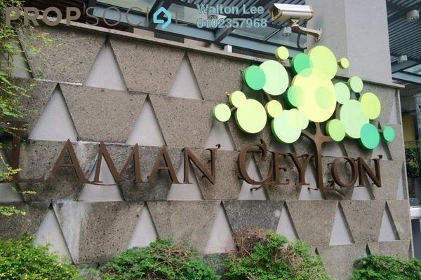 For Rent Condominium at Laman Ceylon, Bukit Ceylon Freehold Semi Furnished 1R/1B 2.8k