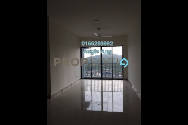 For Rent Condominium at Green Park, Seri Kembangan Freehold Semi Furnished 3R/2B 1.1k