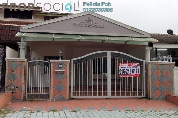 For Rent Terrace at SS3, Kelana Jaya Freehold Semi Furnished 2R/2B 1.85k