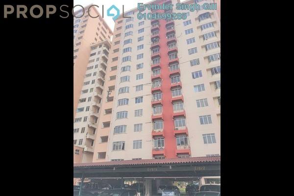 For Rent Condominium at Kelana Puteri, Kelana Jaya Freehold Semi Furnished 3R/2B 1.3k