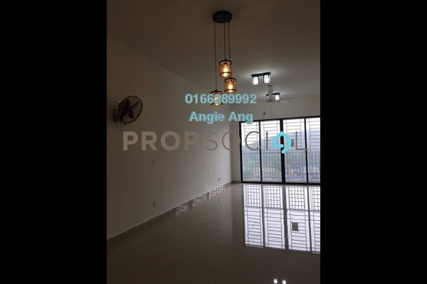 For Rent Condominium at Green Park, Seri Kembangan Freehold Semi Furnished 3R/2B 1.4k