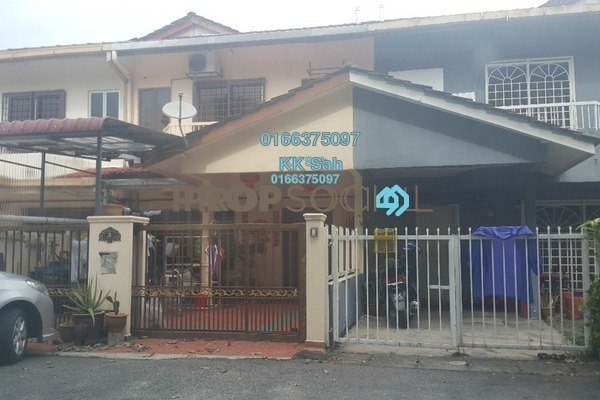 For Sale Terrace at Bandar Putera Klang, Klang Freehold Semi Furnished 4R/3B 388k
